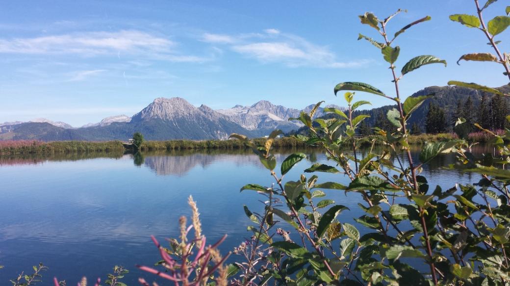 Foto See und Berge